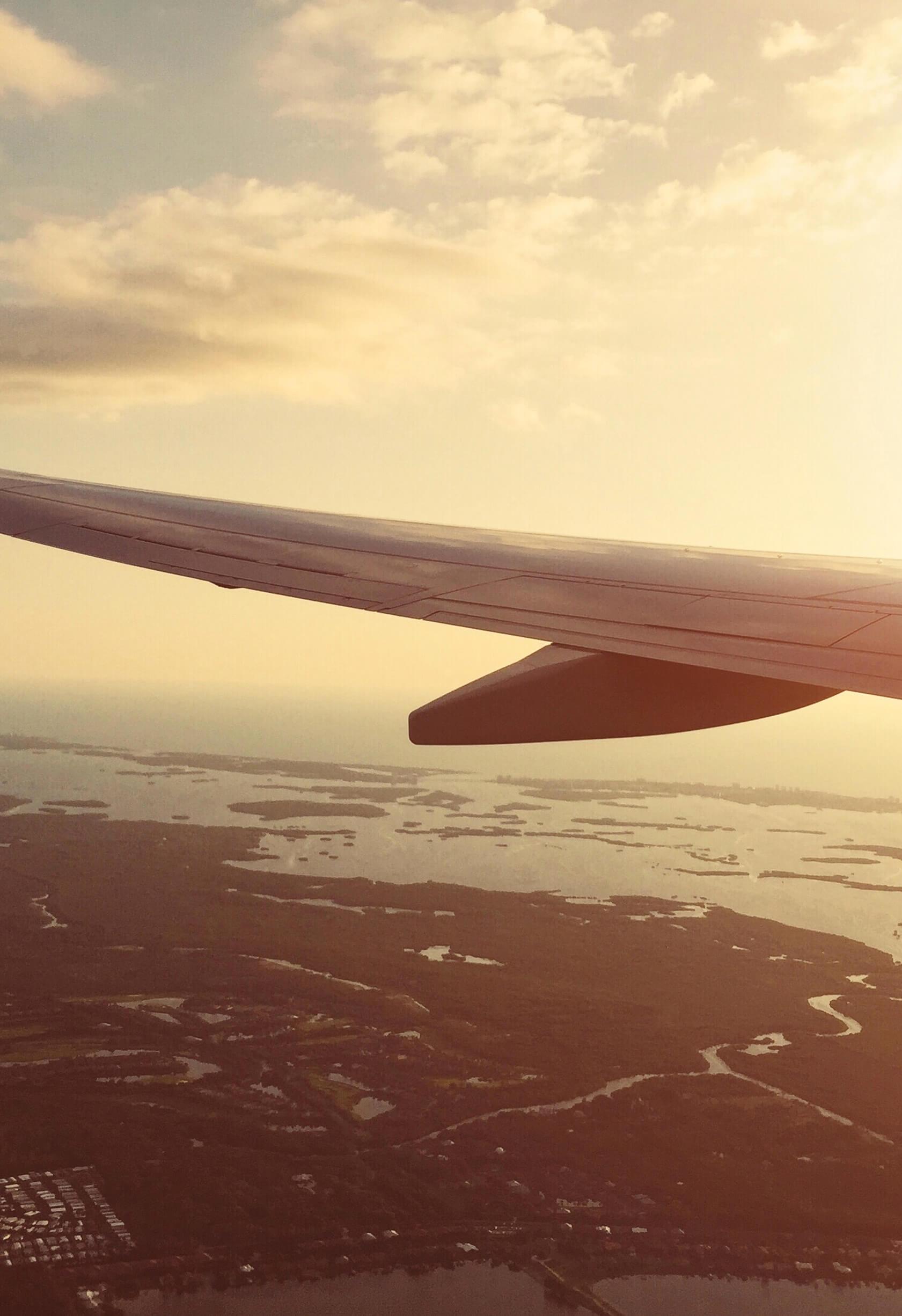 aeroplane representing air freight
